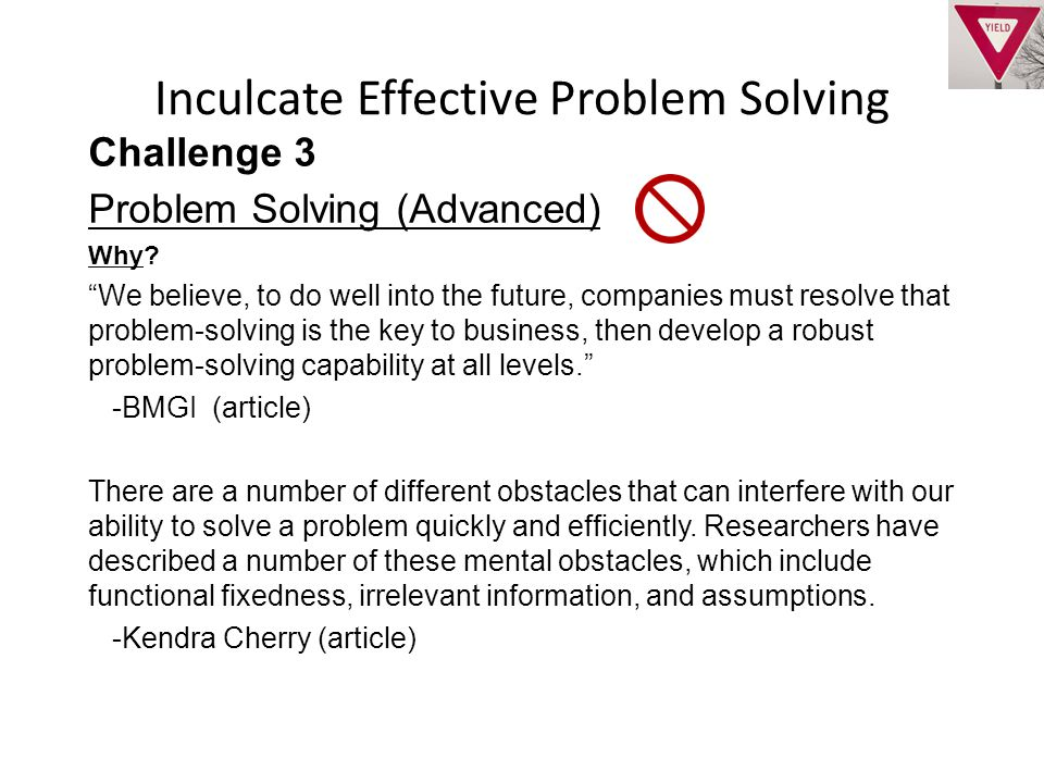 Challenge 3 Problem Solving (Advanced) Why.