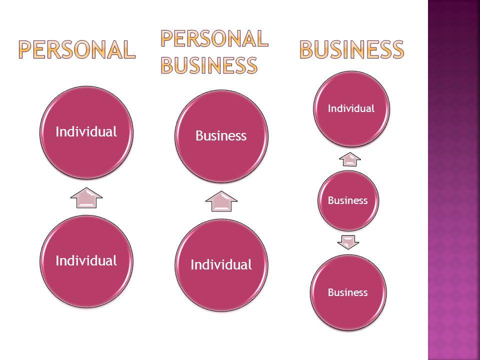 Individual Business IndividualBusiness