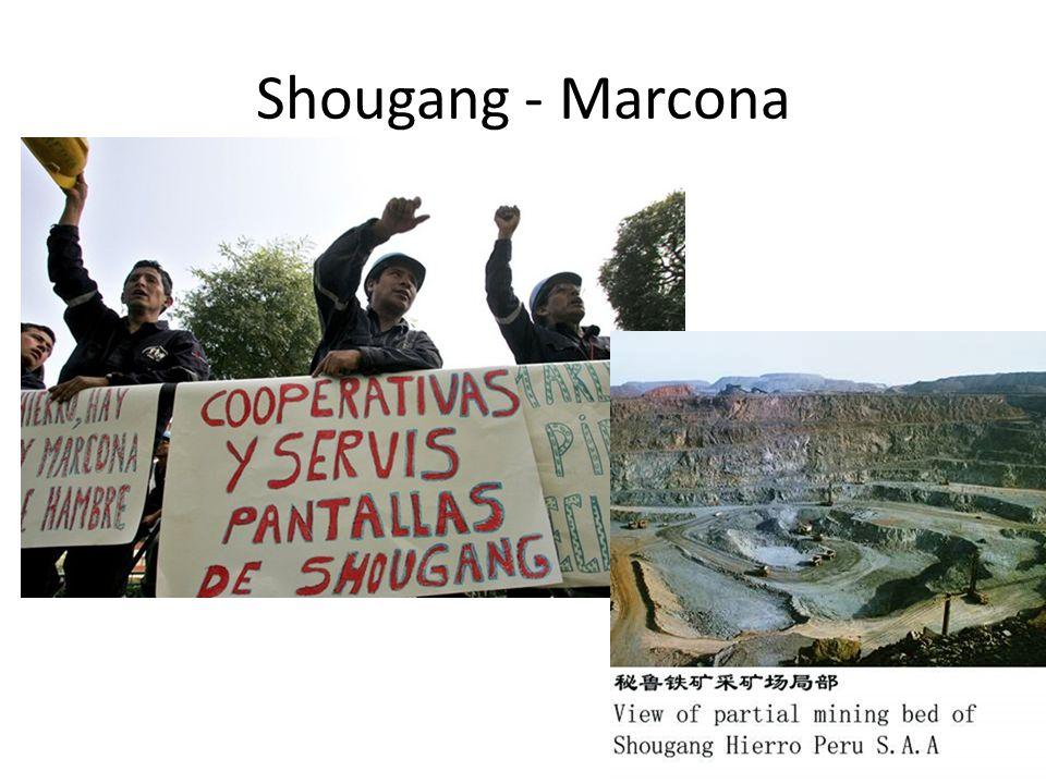 Shougang - Marcona