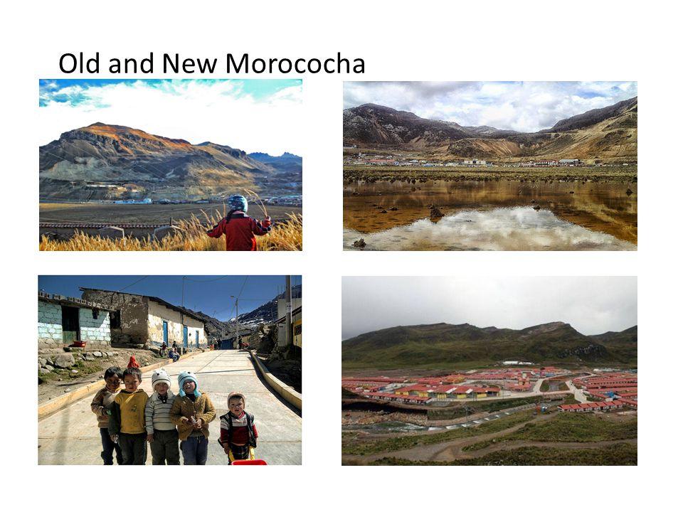 Old and New Morococha