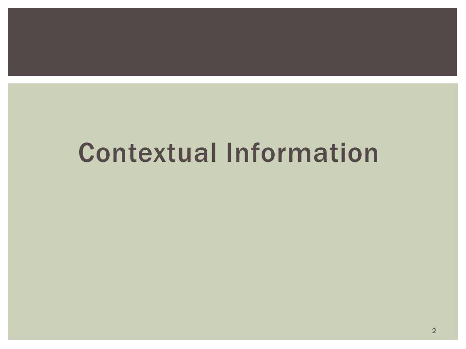 Contextual Information 2