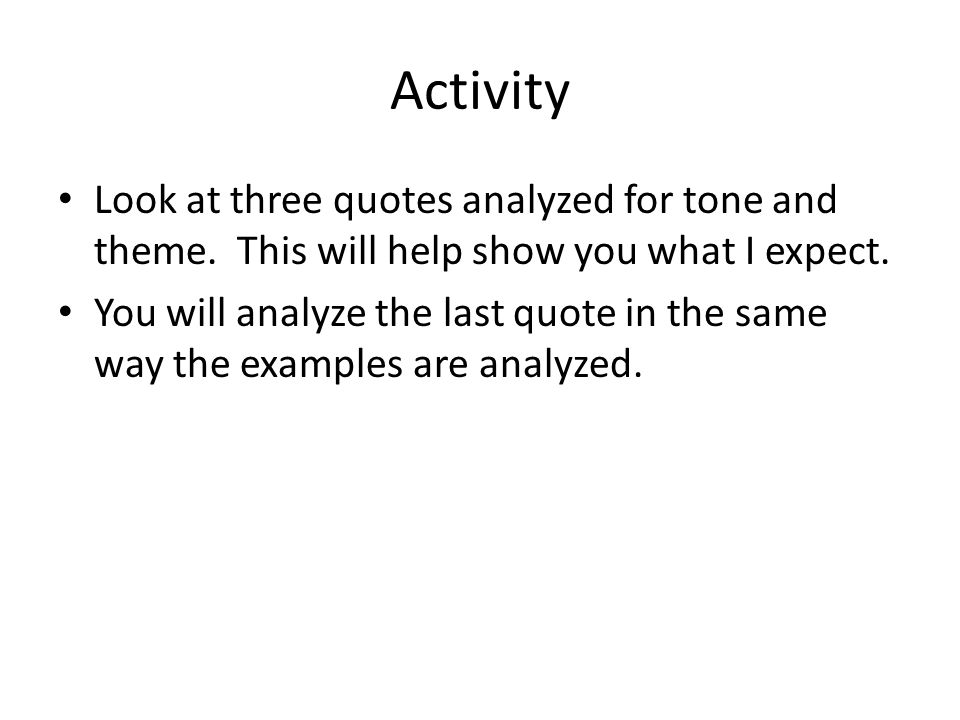 Tone is defined as the writer's or speaker's attitude toward the subject and the audience.