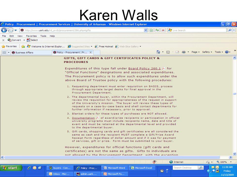 Karen Walls