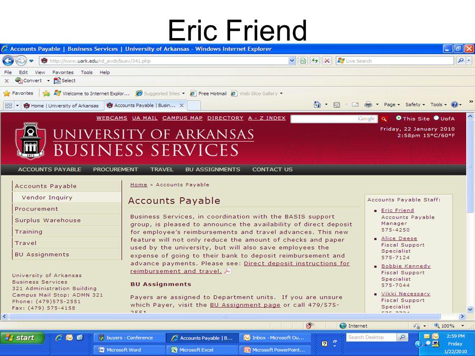 Eric Friend