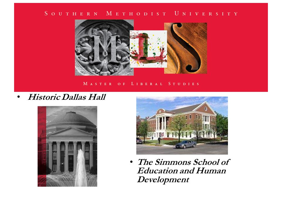 Historic Dallas Hall The Simmons School of Education and Human Development