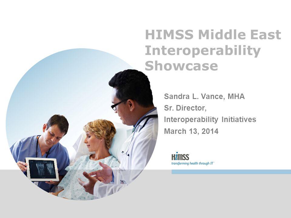 HIMSS ME 2013 Interoperability Showcase Sponsors