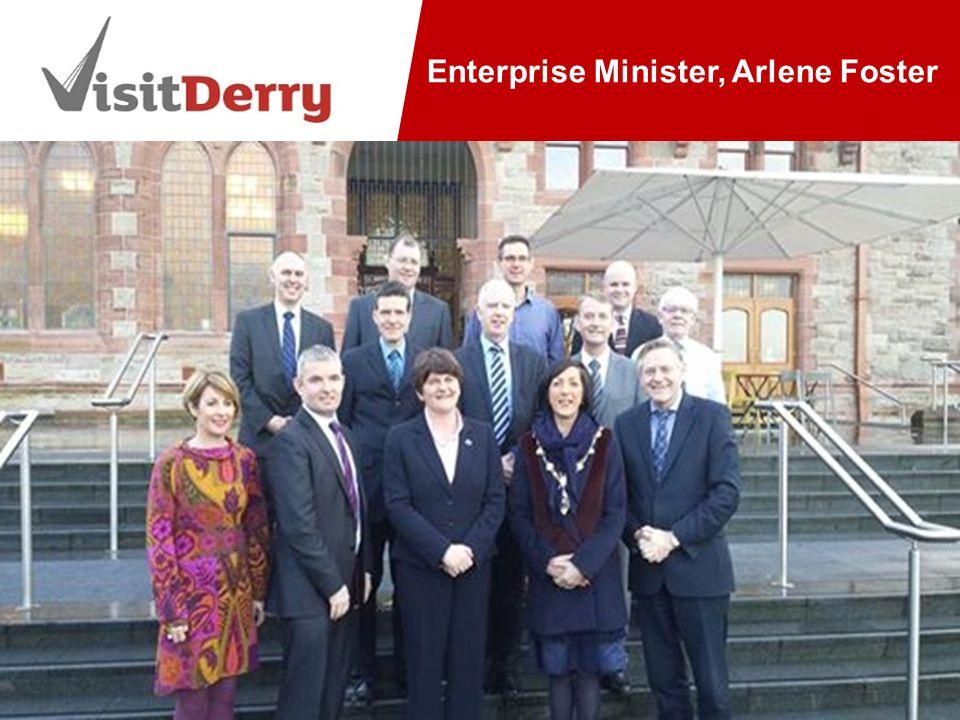 Enterprise Minister, Arlene Foster