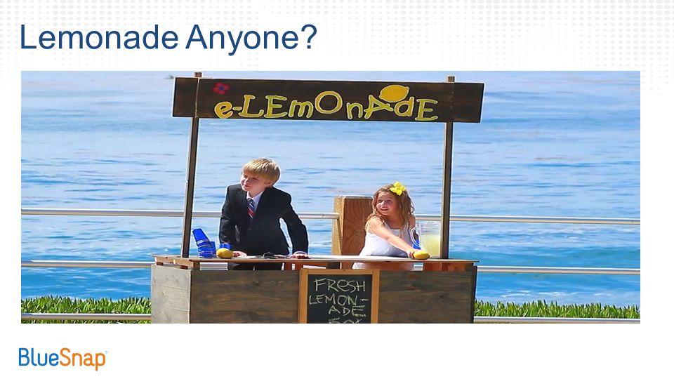 eLemonade Lemonade Anyone