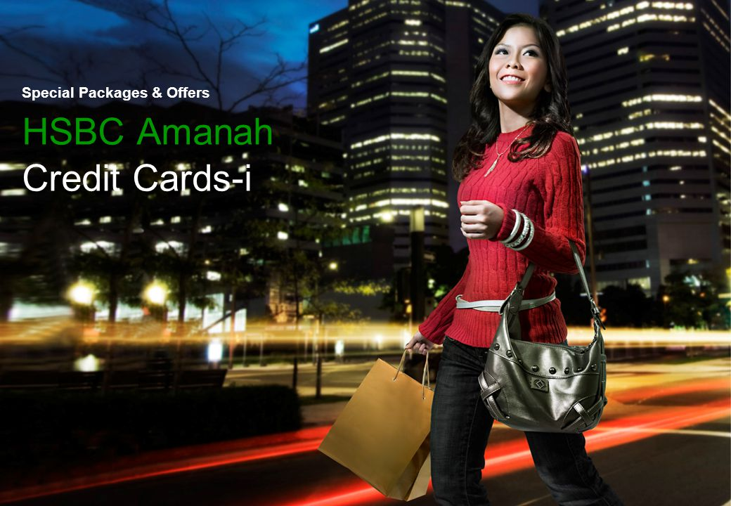 Thank You Special Packages & Offers HSBC Amanah Credit Cards-i