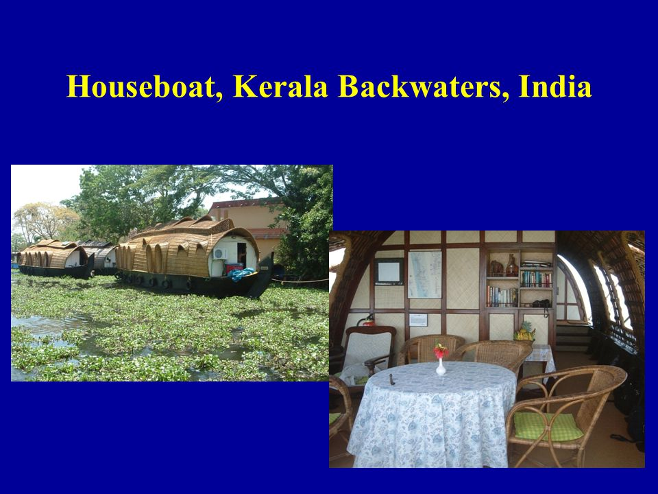 Houseboat, Kerala Backwaters, India