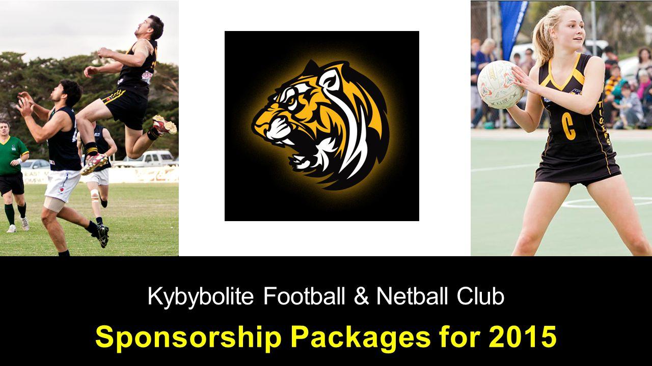 Kybybolite Football & Netball Club Sponsorship Packages for 2015