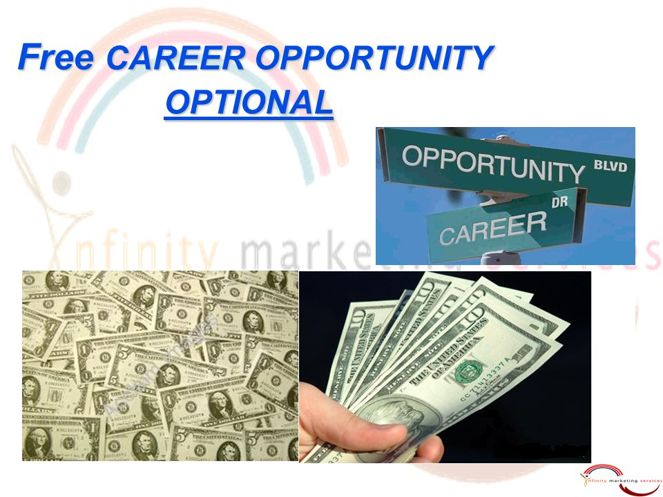 Free CAREER OPPORTUNITY OPTIONAL Free CAREER OPPORTUNITY OPTIONAL