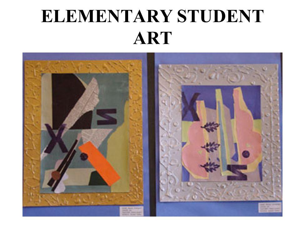 ELEMENTARY STUDENT ART