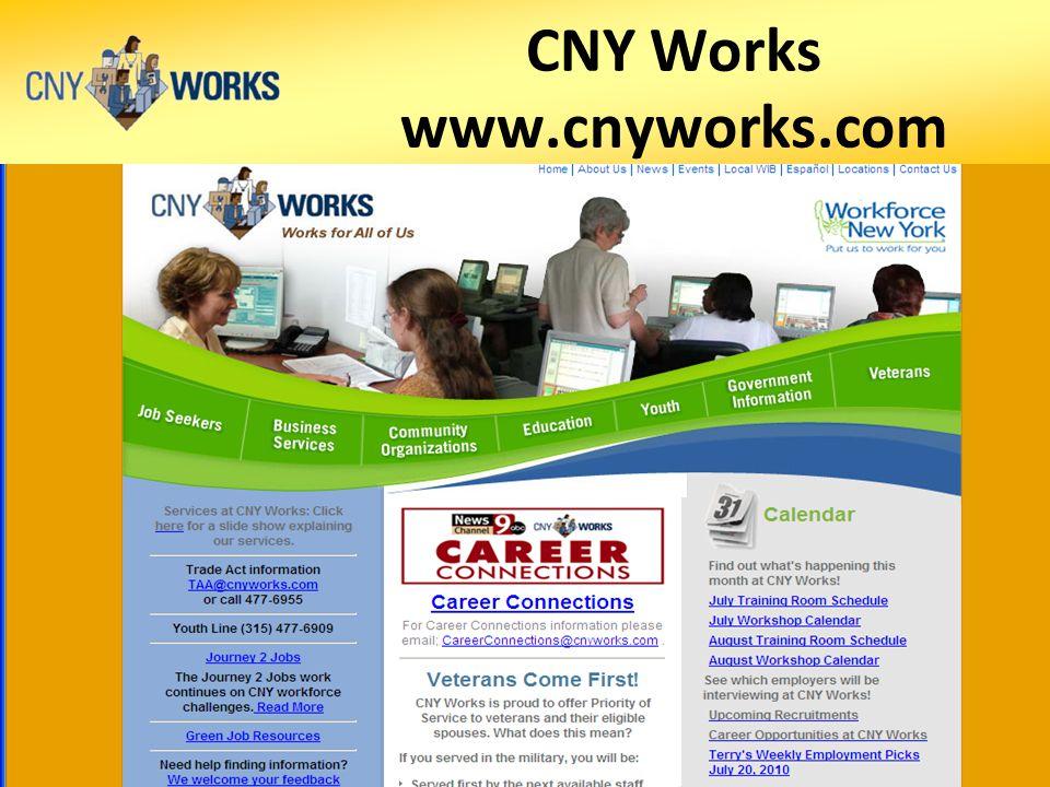CNY Works www.cnyworks.com