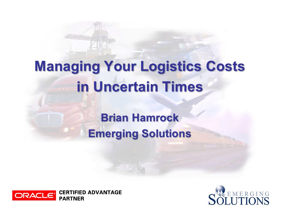 32 Streamline Processes Shipment Shipment Planning & Planning &Optimization ShipmentExecution Global In-Transit Inventory Visibility ProcurementCollaboration & Optimization Reporting & DocumentGeneration Freight Payment, Billing & Claims Performance & Financial Analysis Supply Chain Event Mgmt Achieve Best-In-Class Shipment Lifecycle Capability with OTM Logistics Logistics Order OrderManagement Order-Shipment Lifecycle