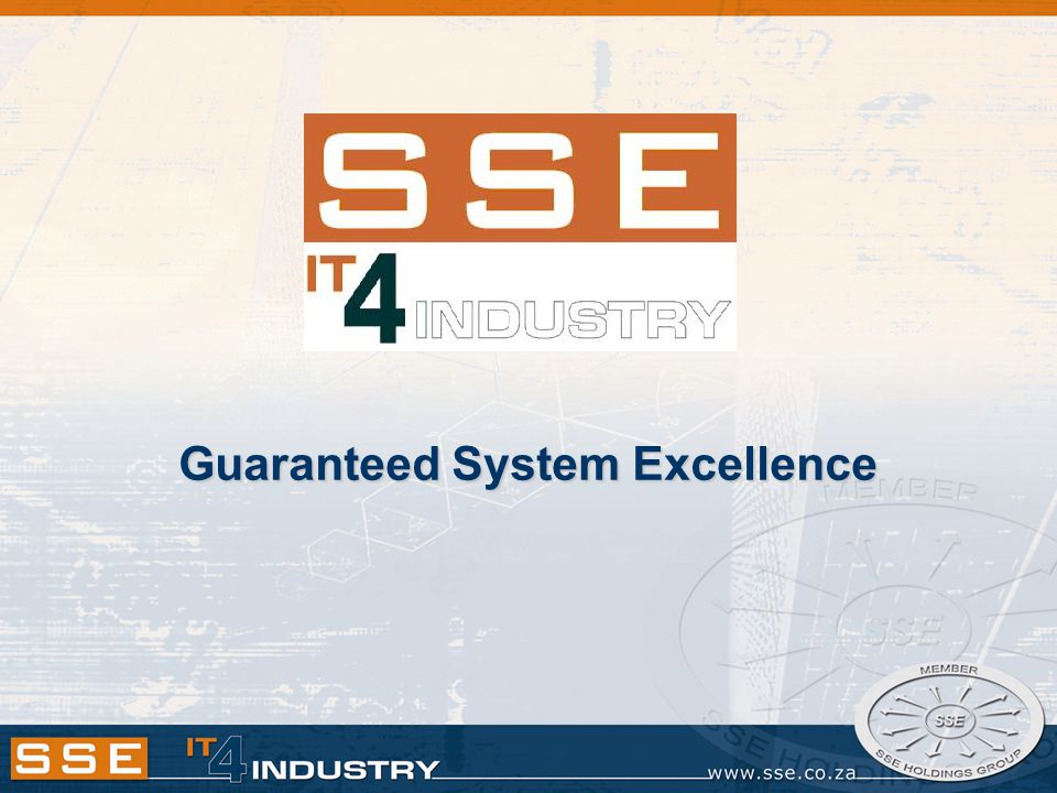 Guaranteed System Excellence