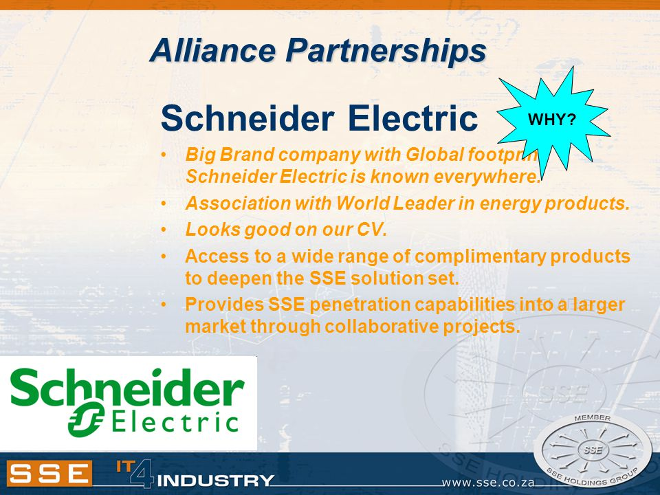 Schneider Electric Big Brand company with Global footprint.