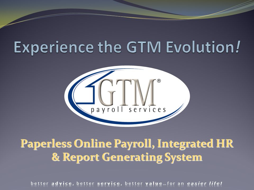 And then begins the procedure to set up all employees for payroll processing.