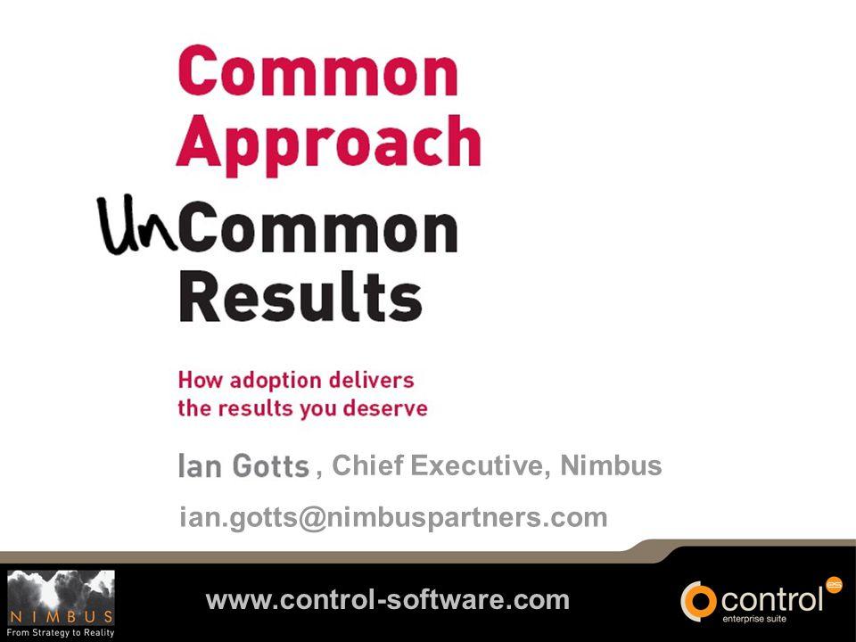 www.control-software.com ian.gotts@nimbuspartners.com, Chief Executive, Nimbus