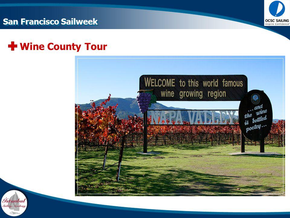 Wine County Tour San Francisco Sailweek