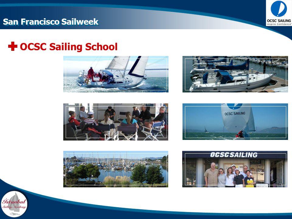OCSC Sailing School San Francisco Sailweek