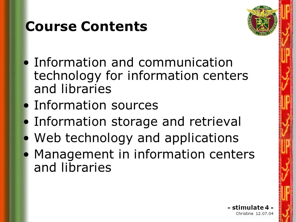 Recommendations to Sudanes National Commission for UNESCO Automation of the Library, using the computers in it.