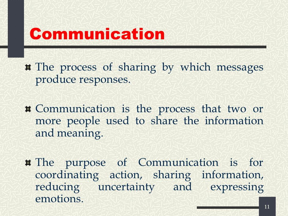 10 Communication Process Sender Message Received Feedback