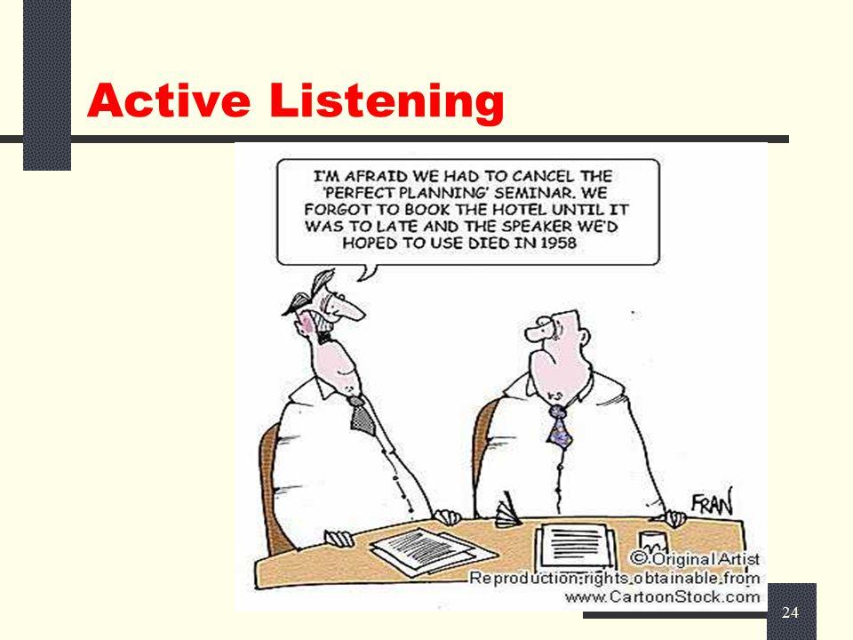 23 Active Listening