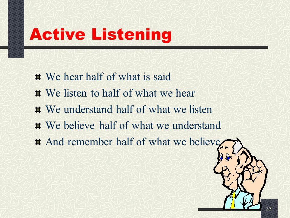 24 Active Listening