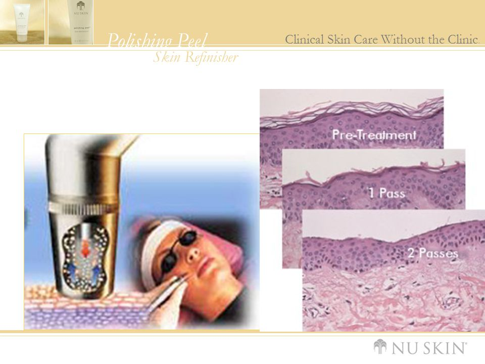 Polishing Peel Clinical Skin Care Without the Clinic. Skin Refinisher