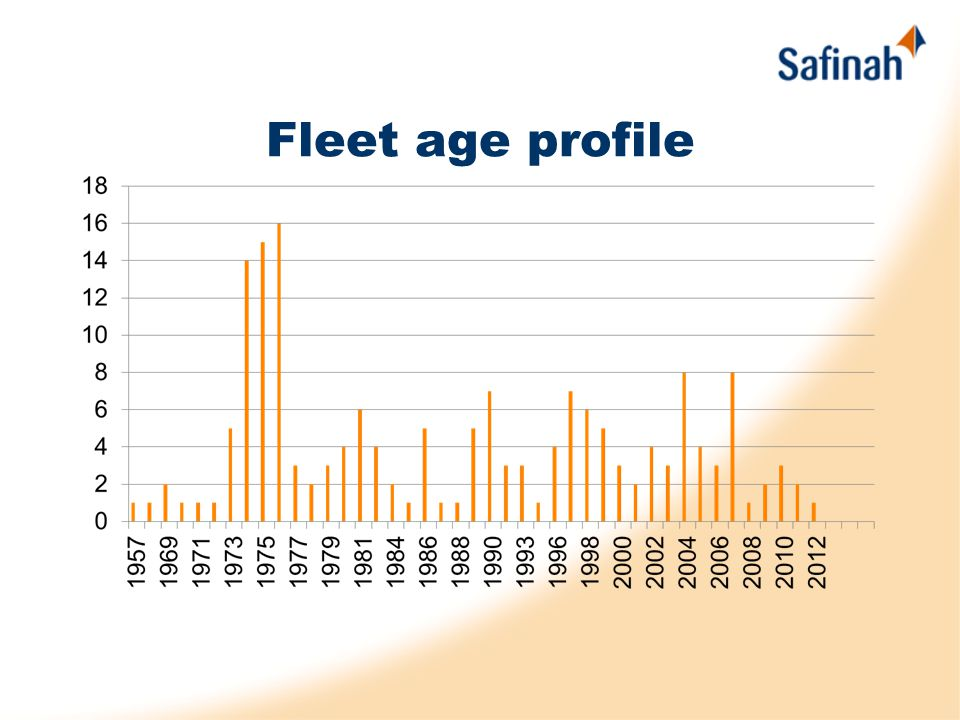 Fleet age profile