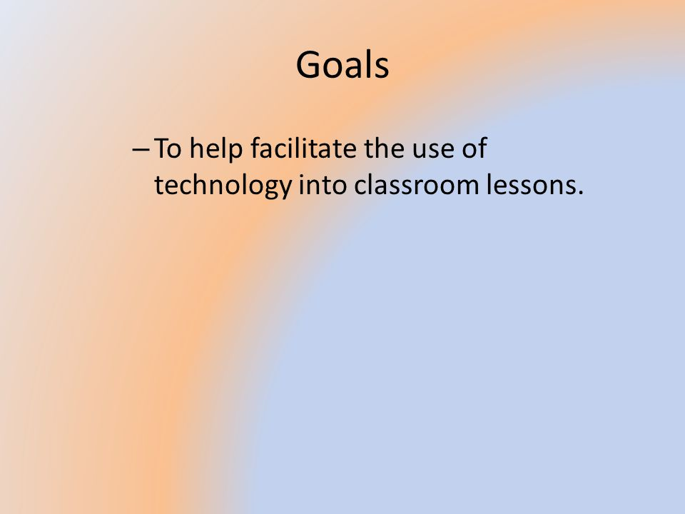 Infusing Curriculum with Technology