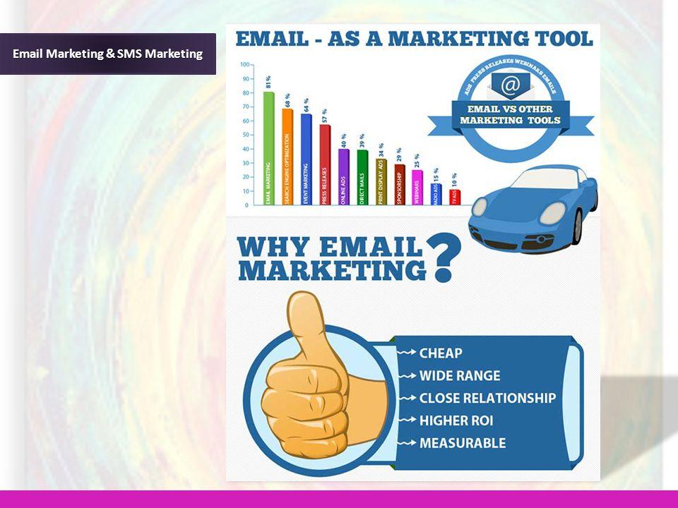 Email Marketing & SMS Marketing
