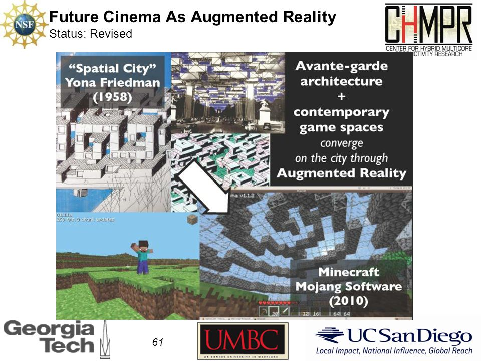 Future Cinema As Augmented Reality Status: Revised 61
