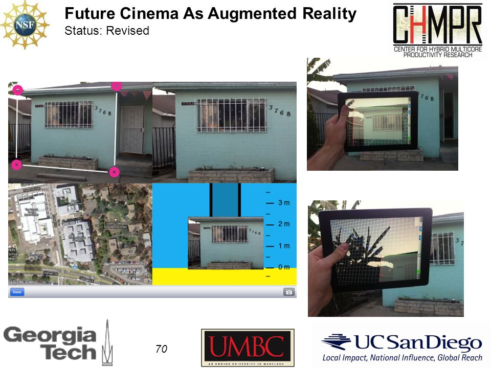 70 Future Cinema As Augmented Reality Status: Revised