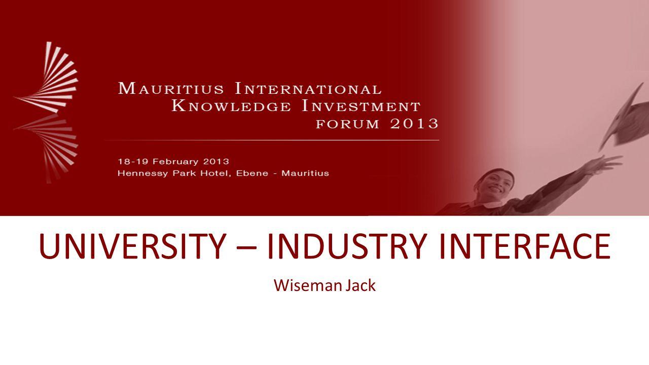 www.mikif.com University – Industry CHALLENGES UNEMPLOYED AND UNEMPLOYABLE GRADUATES
