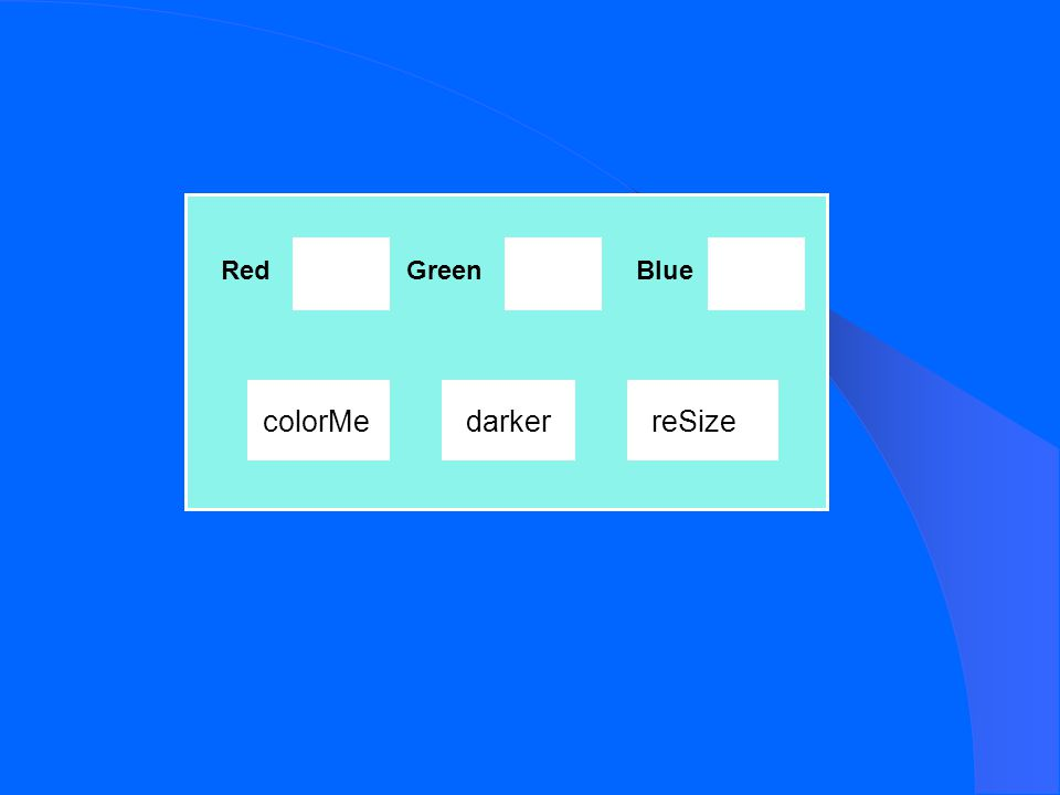 Red colorMe GreenBlue darkerreSize