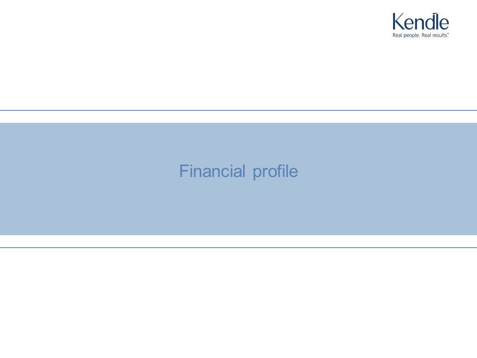 N o r t h A m e r i c a E u r o p e A s i a / P a c i f i c L a t i n A m e r i c a A f r i c a 20 Financial profile