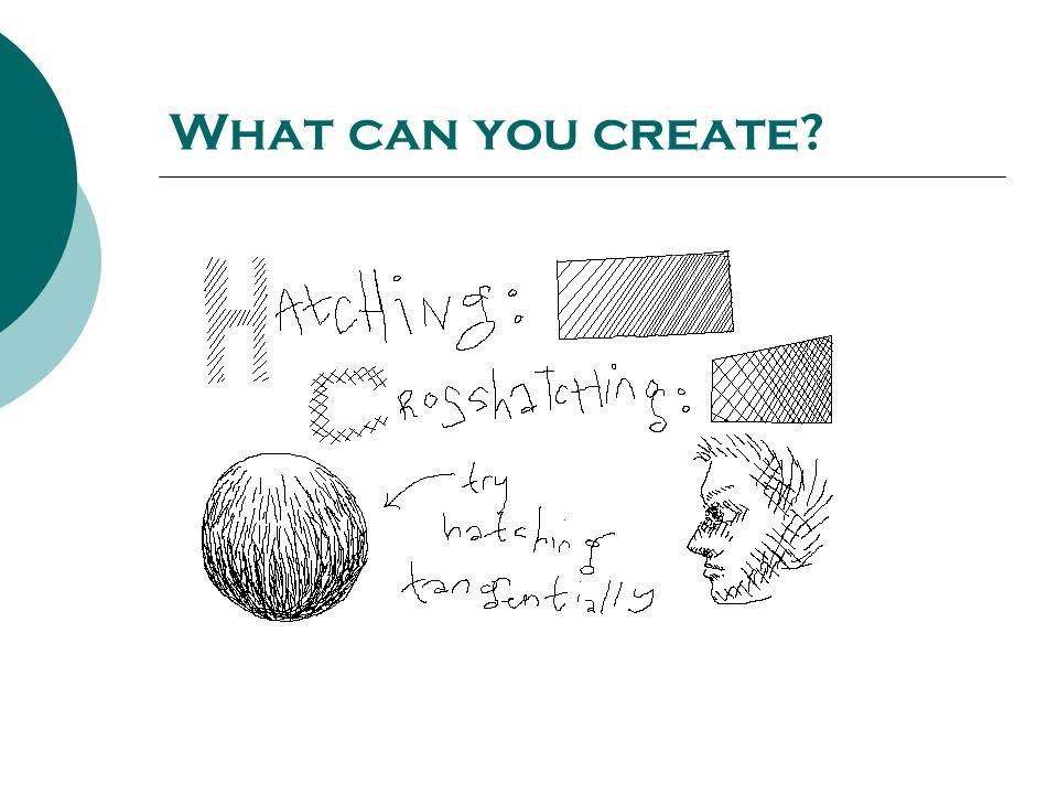 What can you create