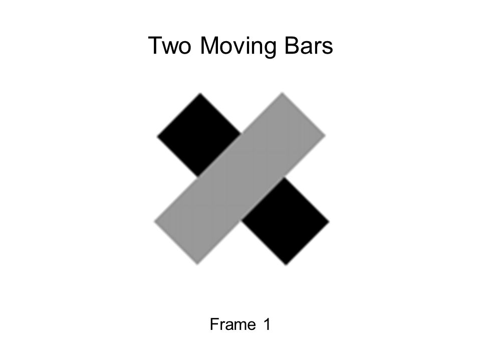 Frame 1 Two Moving Bars