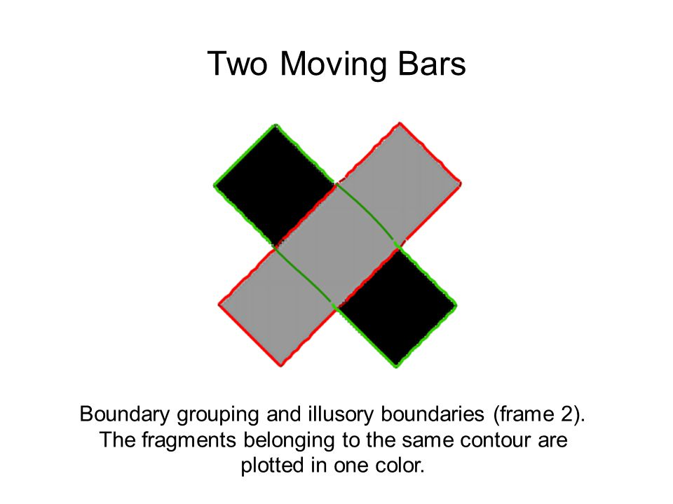 Boundary grouping and illusory boundaries (frame 2).