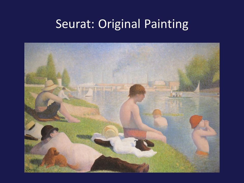 Seurat: Original Painting