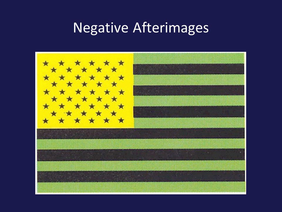 Negative Afterimages