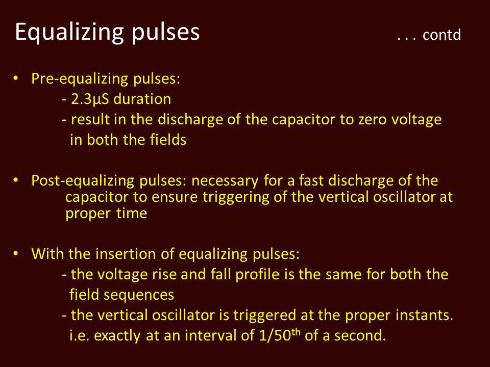 Equalizing pulses...