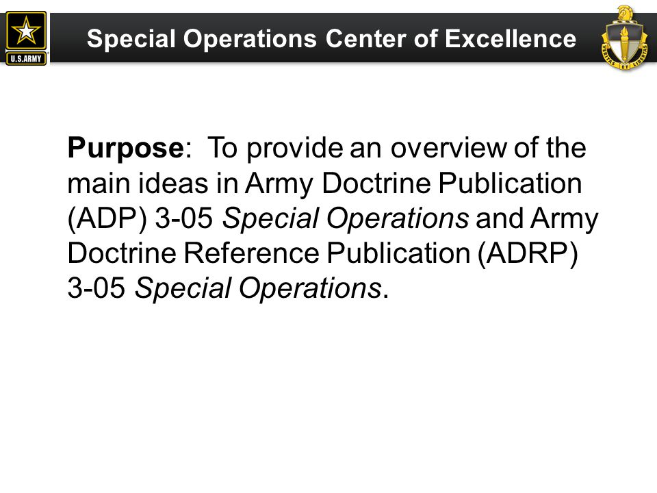 Commander, USAJFKSWCS Joint and Army Doctrine Integration Division ATTN: AOJK-CDI-CID Fort Bragg, NC 28310 (910) 432-6035; DSN 239-6035 JAComments@ahqb.soc.mil