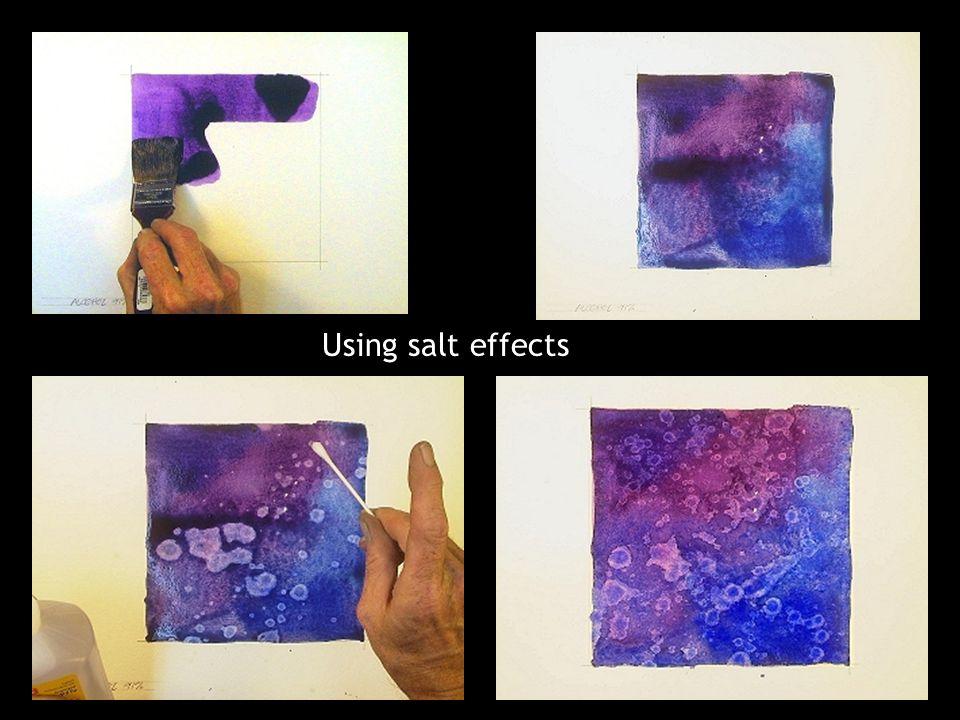 Using salt effects