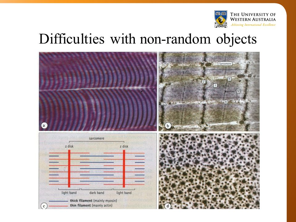 Difficulties with non-random objects