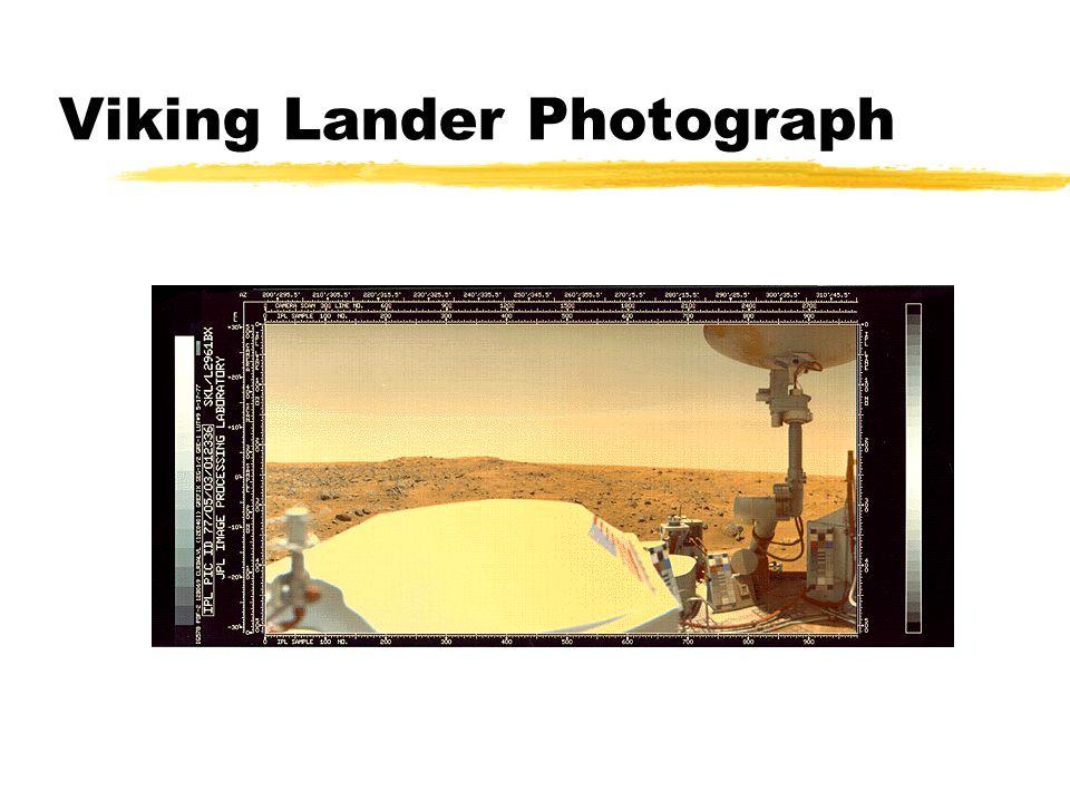Viking Lander Photograph
