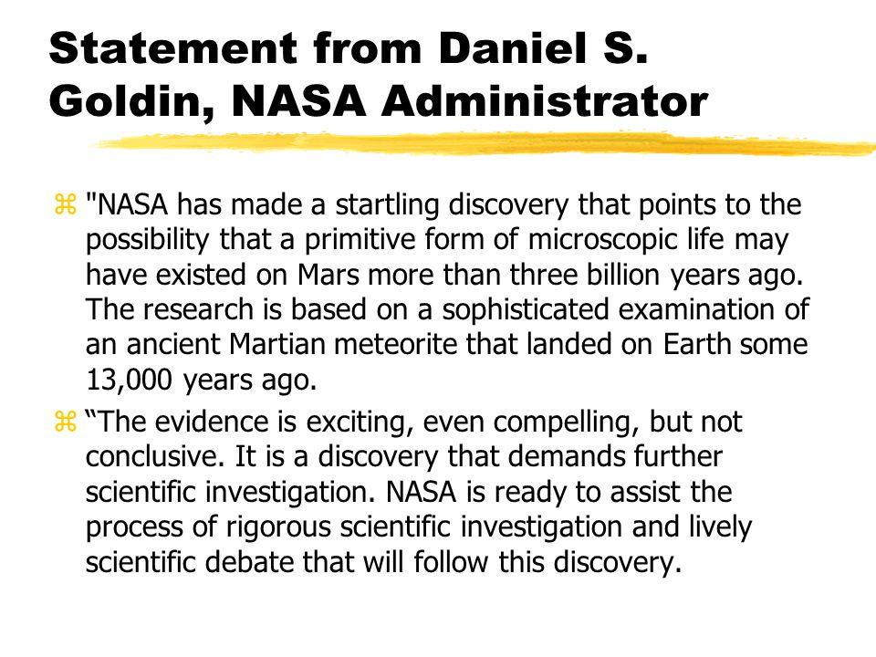 Statement from Daniel S.