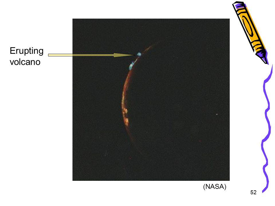 52 Erupting volcano (NASA)